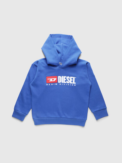 Diesel - SDIVISION OVER, Cerulean - Sweaters - Image 1