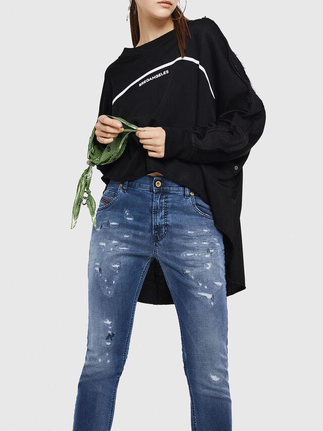 Diesel - Krailey JoggJeans 069HA, Medium blue - Jeans - Image 4