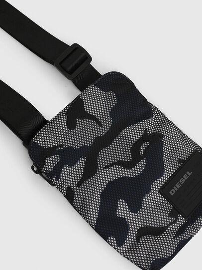 Diesel - F-DISCOVER CROSS, Grey/Blue - Crossbody Bags - Image 4