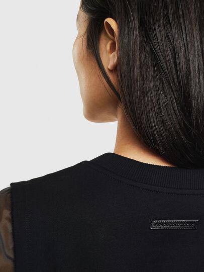 Diesel - D-GOLD, Black - Dresses - Image 6