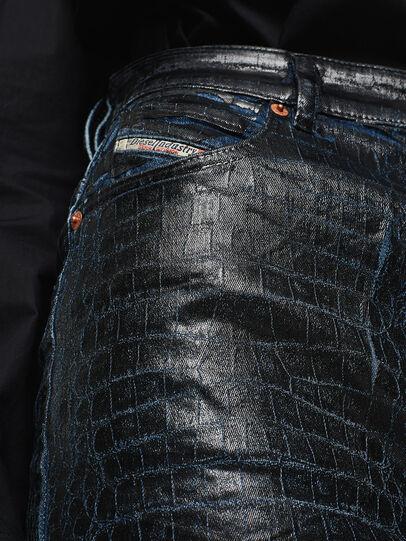 Diesel - D-RIRI-SX-T, Dark Blue - Skirts - Image 5