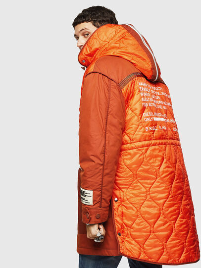 Diesel - W-KOVIK, Orange - Winter Jackets - Image 7