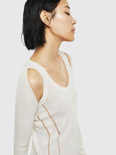 Diesel - K-SIMONA, White - Knitwear - Image 3