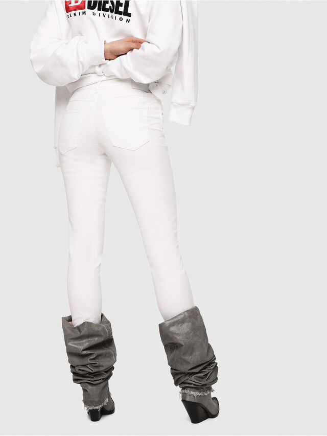 Diesel - Babhila 086AS, White - Jeans - Image 2