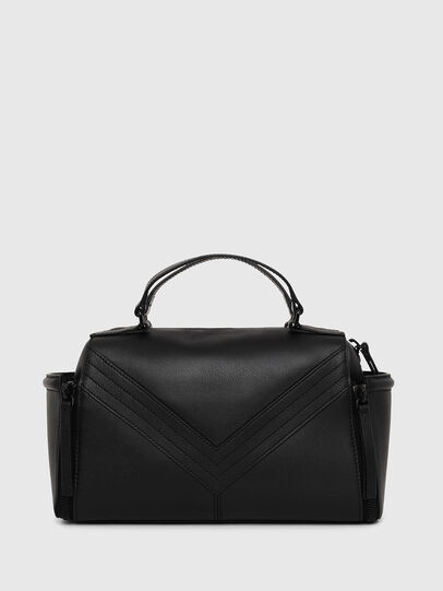 Diesel - LE-ZIPPER SATCHEL, Black - Satchels and Handbags - Image 2