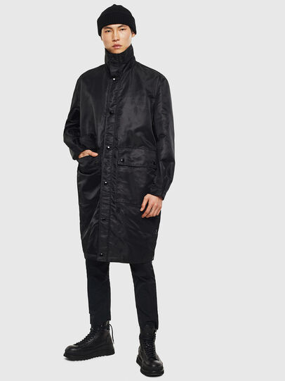 Diesel - J-R-LONG, Black - Jackets - Image 6