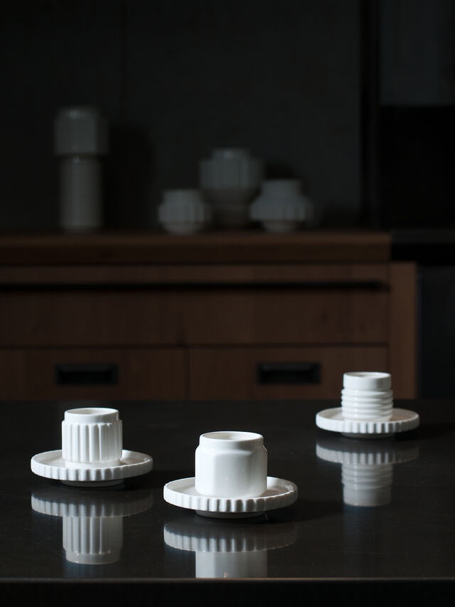 Living 10974 MACHINE COLLEC, White - Cups - Image 3