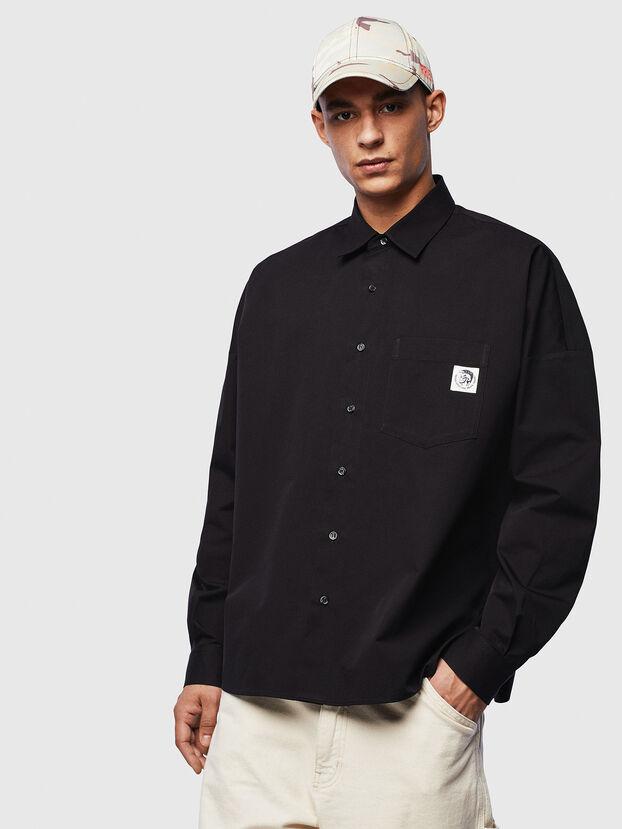 S-LOOMY, Black - Shirts