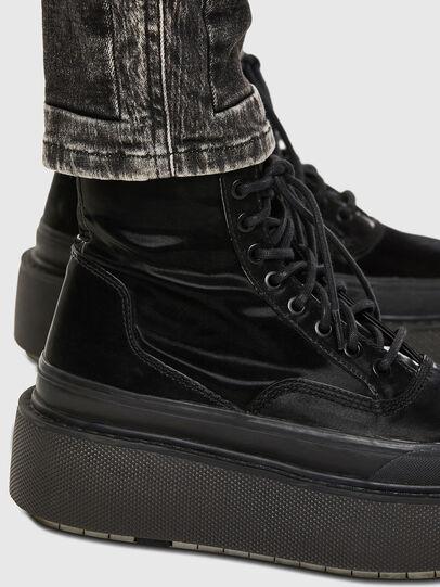Diesel - Babhila 009FH, Black/Dark grey - Jeans - Image 6