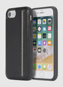 ZIP BLACK LEATHER IPHONE 8 PLUS/7 PLUS/6s PLUS/6 PLUS CASE, Black - Cases