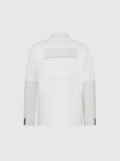 Diesel - J-THULL, White - Jackets - Image 2