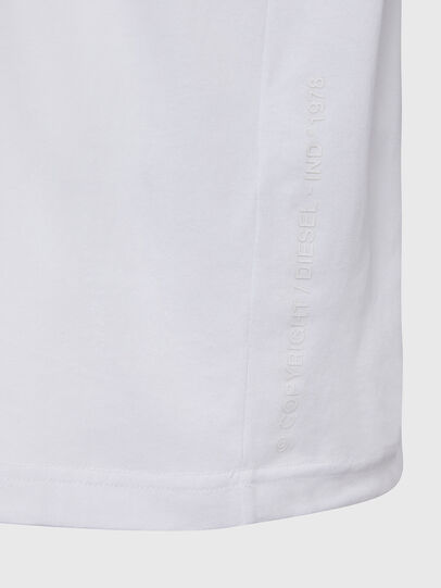 Diesel - T-JUST-X64, White - T-Shirts - Image 4