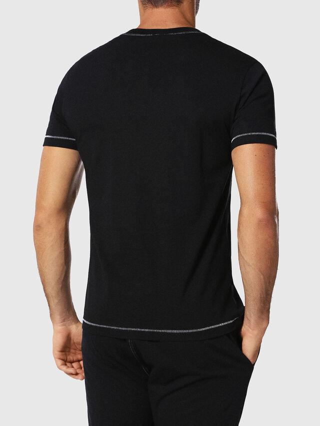 Diesel - UMLT-JAKE, Black - T-Shirts - Image 2