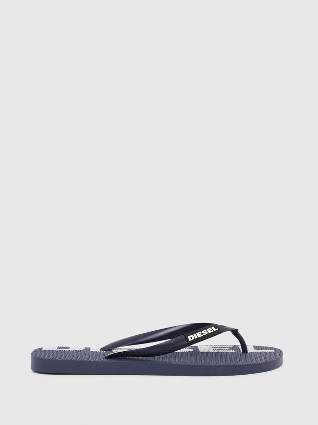 SA-BRIIAN, Dark Blue - Slippers