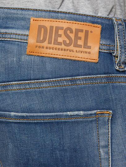 Diesel - Sleenker 009FC, Medium blue - Jeans - Image 4