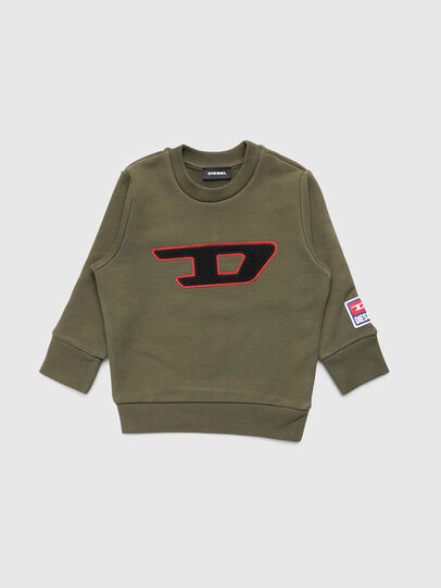 Diesel - SCREWDIVISIONB-D-R, Military Green - Sweaters - Image 1
