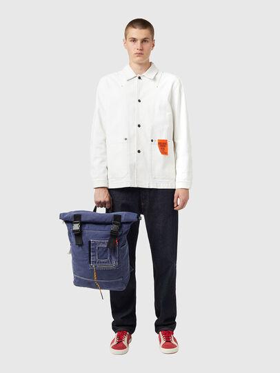Diesel - FOLD, Blue - Backpacks - Image 6