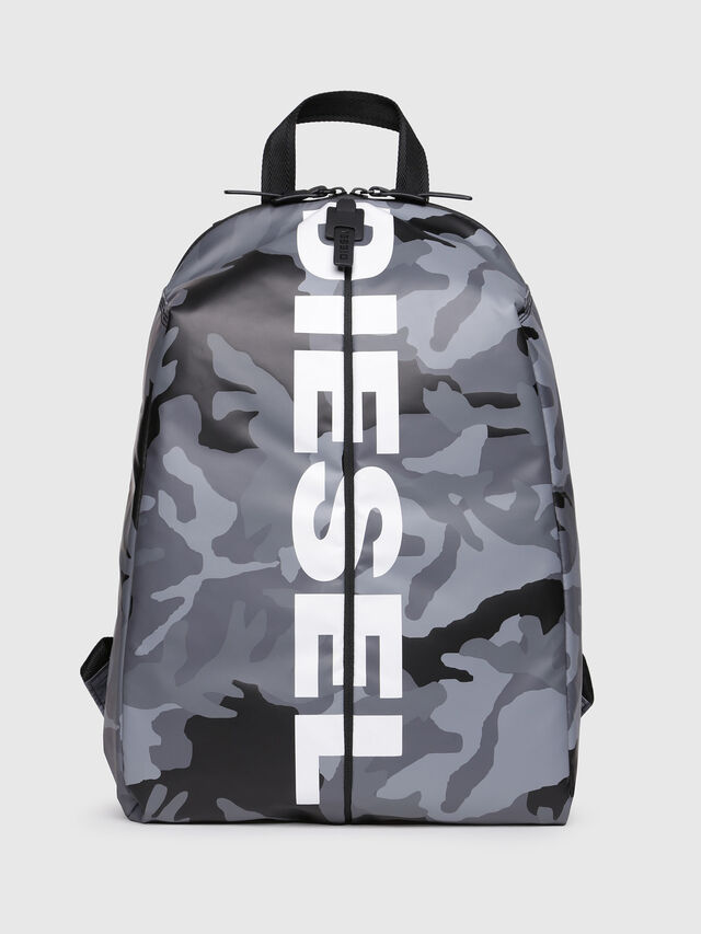 Diesel - F-BOLD BACK, Grey - Backpacks - Image 1
