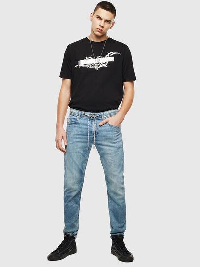 Diesel - Thommer JoggJeans 069LK, Light Blue - Jeans - Image 5