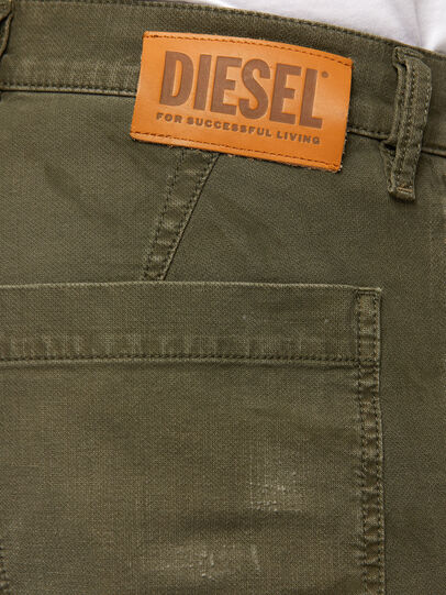 Diesel - D-Azzer JoggJeans 069NF, Military Green - Jeans - Image 4