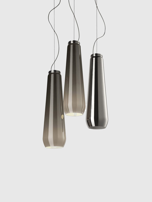 Living GLAS DROP, Grey - Hang Lighting - Image 1