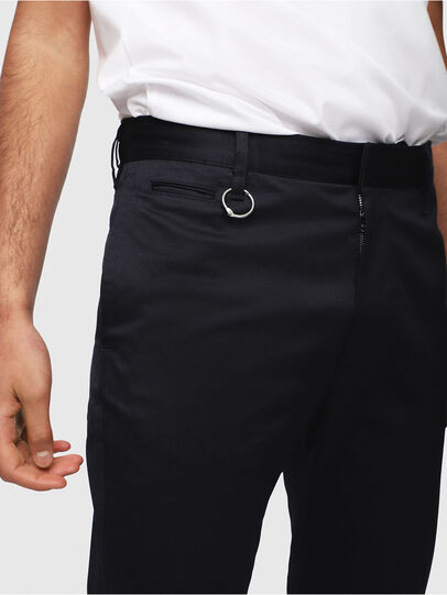 Diesel - P-MAD-ICHIRO, Dark Blue - Pants - Image 3