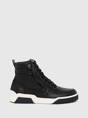 S-RUA MID, Black - Sneakers