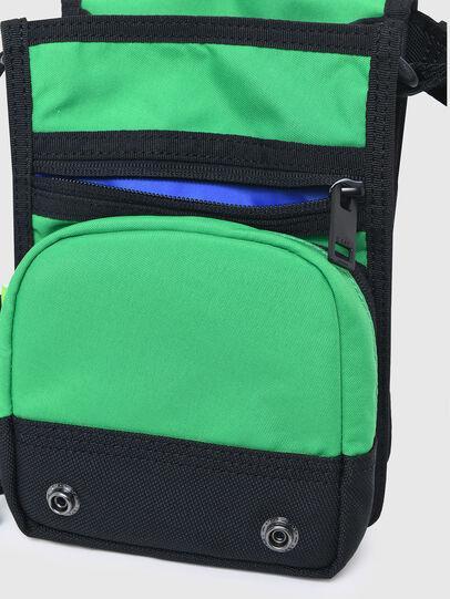 Diesel - ANKO WP, Green/Blue - Crossbody Bags - Image 5