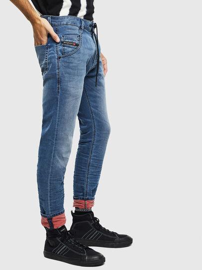 Diesel - Krooley JoggJeans 069MA, Medium blue - Jeans - Image 5