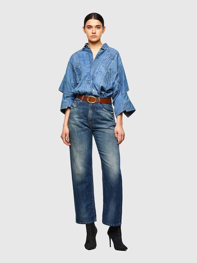 Diesel - DE-RINGLE-MM-SP, Medium blue - Denim Shirts - Image 5