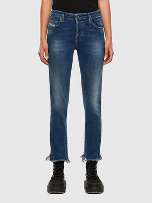 Babhila-Zip 009EZ, Medium blue - Jeans