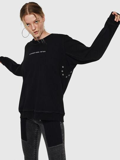 Diesel - F-LYANY-F, Black - Sweaters - Image 6