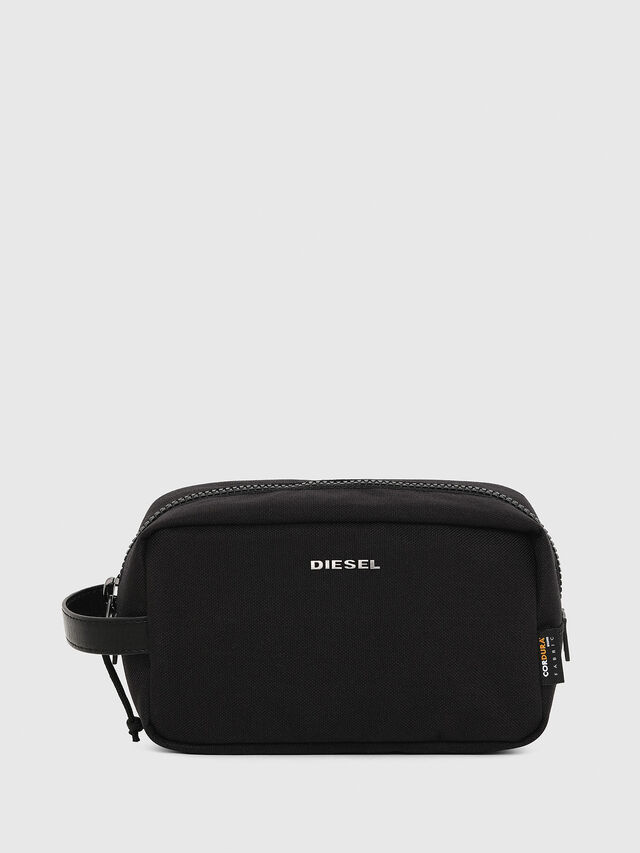 Diesel F-URBHANITY POUCH, Black - Bijoux and Gadgets - Image 1