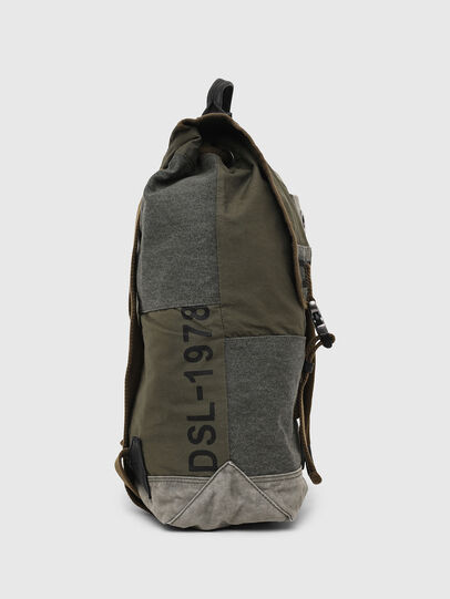 Diesel - VOLPAGO BACK ARMY, Olive Green - Backpacks - Image 3