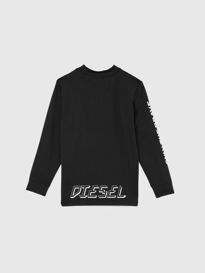 Diesel - TAPRESBR-SKI, Black - T-shirts and Tops - Image 2