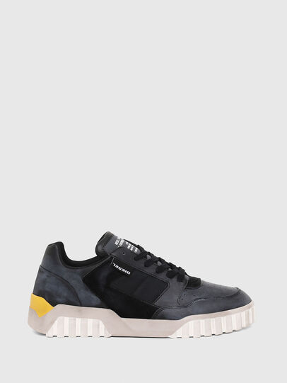 Diesel - S-RUA LOW90, Blue/Black - Sneakers - Image 1