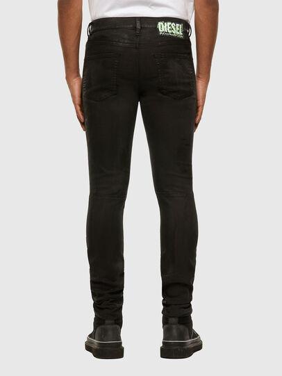 Diesel - D-Strukt JoggJeans 009GH, Black/Dark grey - Jeans - Image 2