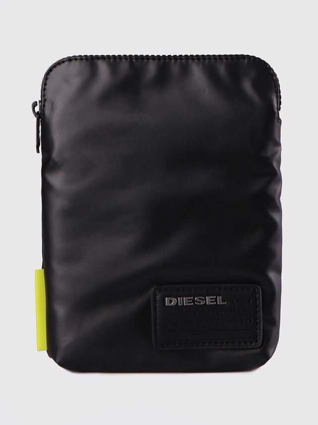 Diesel F-DISCOVER SMALLCROS, Black - Crossbody Bags - Image 1