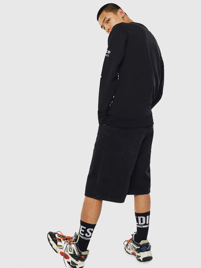 Diesel - S-GIRK-S1, Black - Sweaters - Image 3