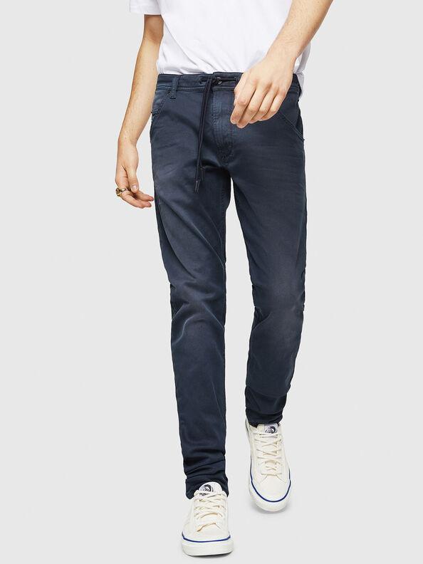 Krooley Long JoggJeans 0670M, Dark Blue - Jeans