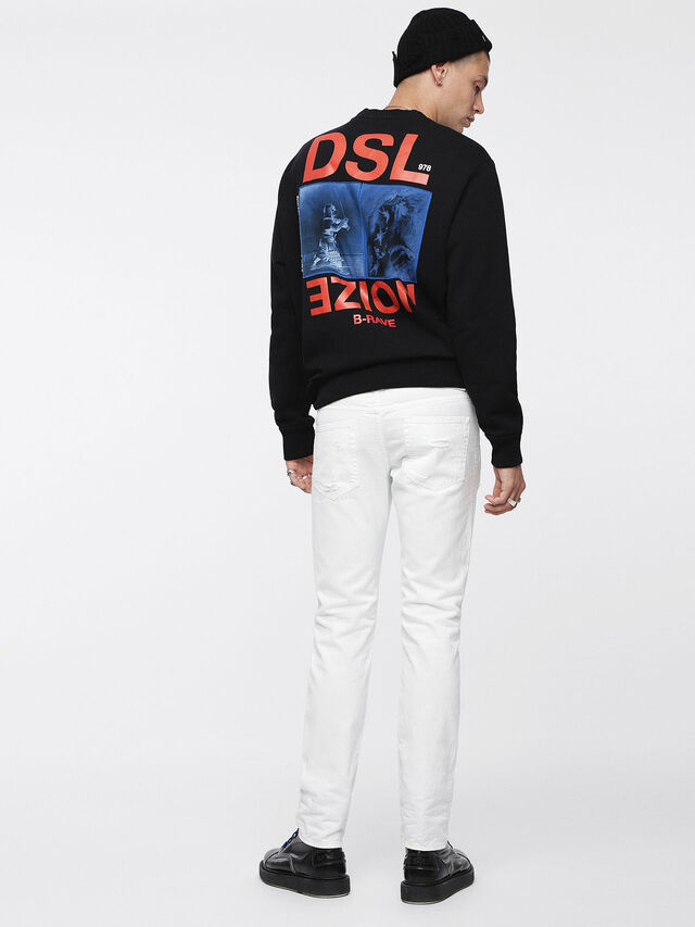 Diesel - Buster 0680K, White - Jeans - Image 2