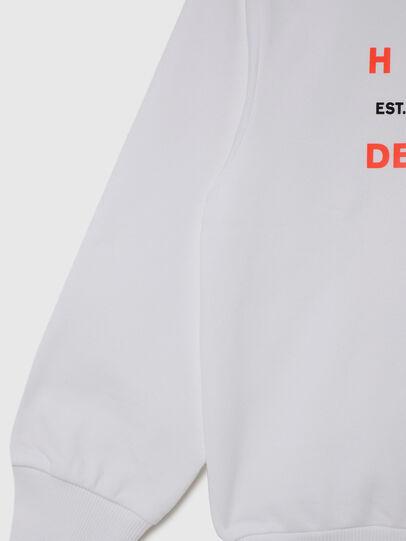 Diesel - SGIRKK10 OVER, White - Sweaters - Image 4