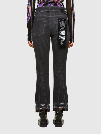Diesel - D-Earlie 009JZ, Black/Dark grey - Jeans - Image 2