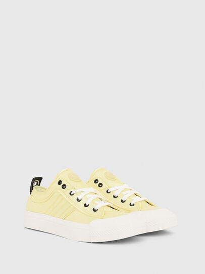 Diesel - S-ASTICO LOW LACE W, Yellow - Sneakers - Image 2
