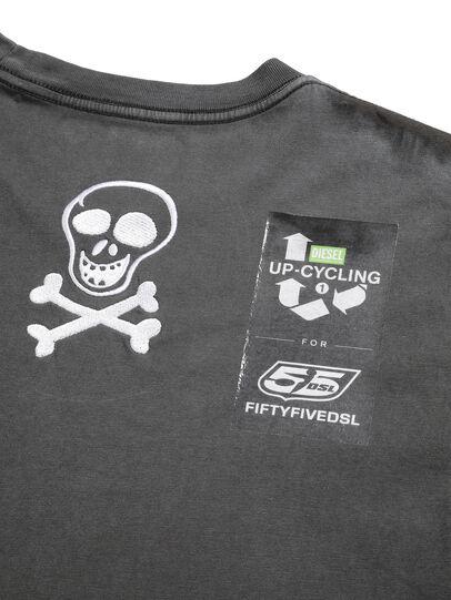 Diesel - D-5055-G, Black - T-Shirts - Image 7