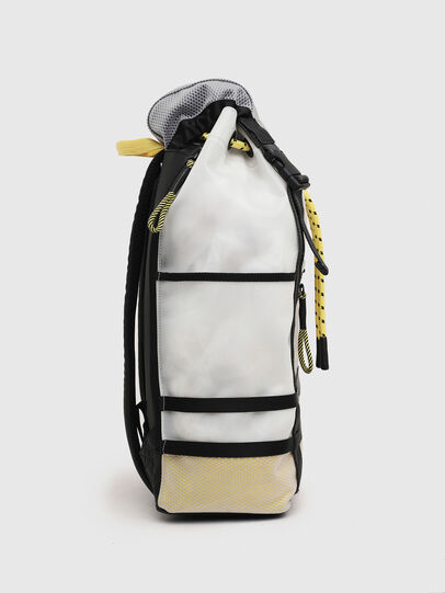Diesel - F-SUSE BACKPCK, White/Yellow - Backpacks - Image 3