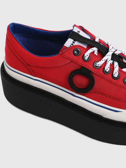 Diesel - H-SCIROCCO LOW, Fire Red - Sneakers - Image 5