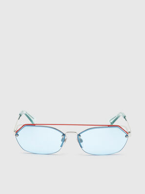 DL0313, White/Red - Sunglasses