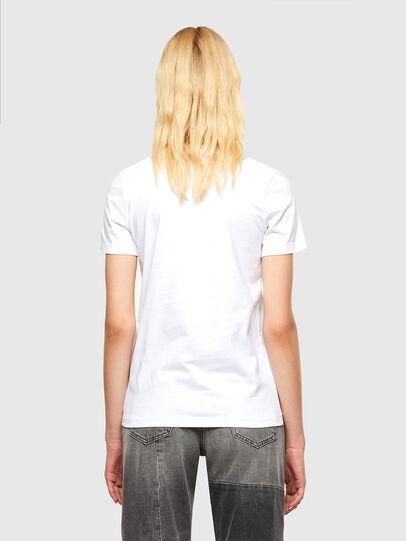 Diesel - T-SILY-SMALLOGO, White - T-Shirts - Image 2