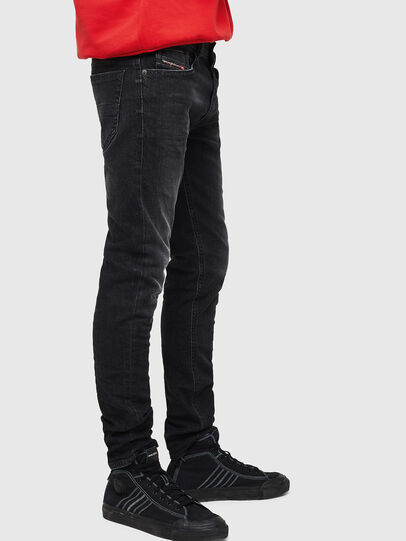 Diesel - Thommer 0890E, Black/Dark grey - Jeans - Image 4